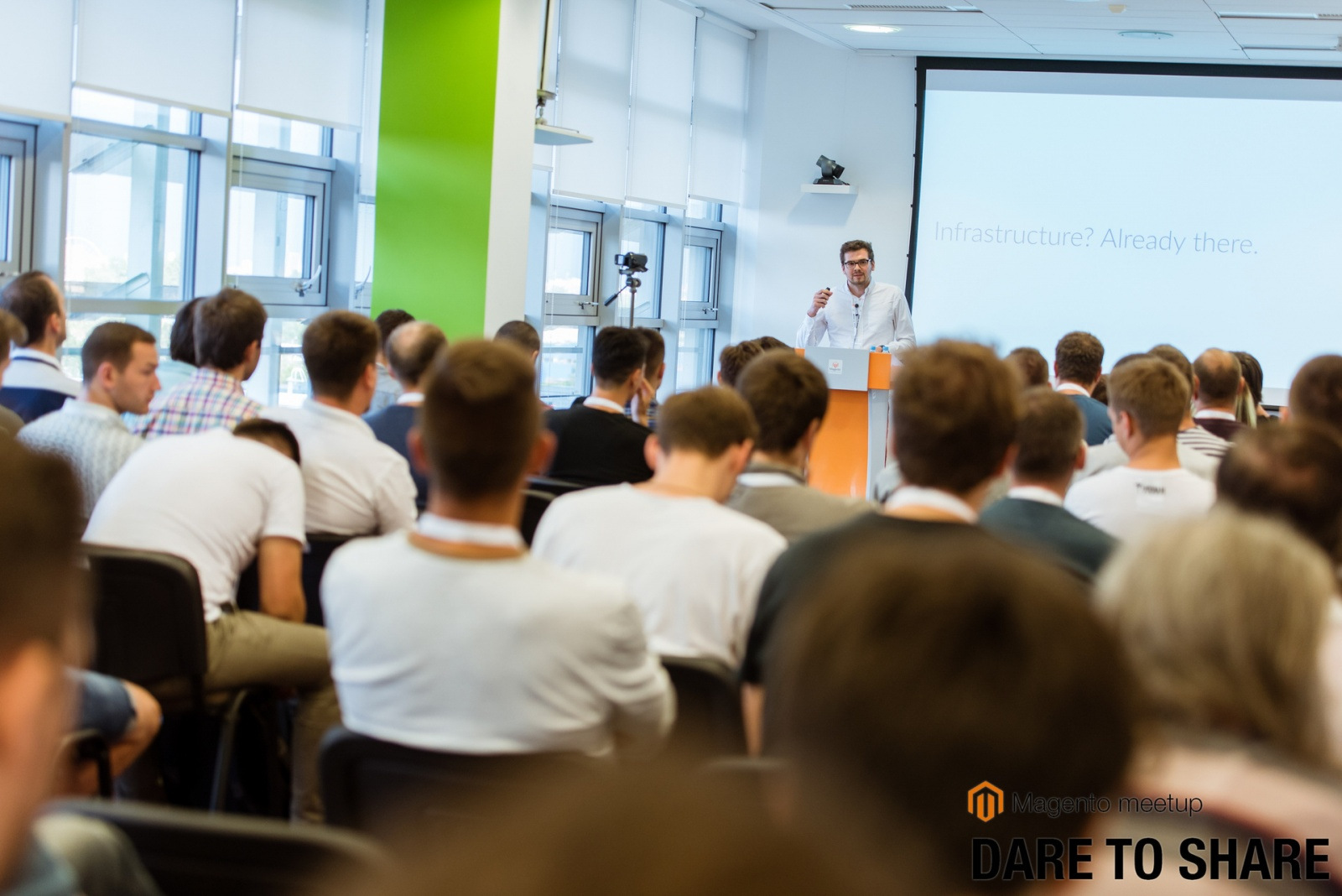 Magento Dare to Share — Открытая Площадка для докладов о Magento, PHP и eCommerce - 1