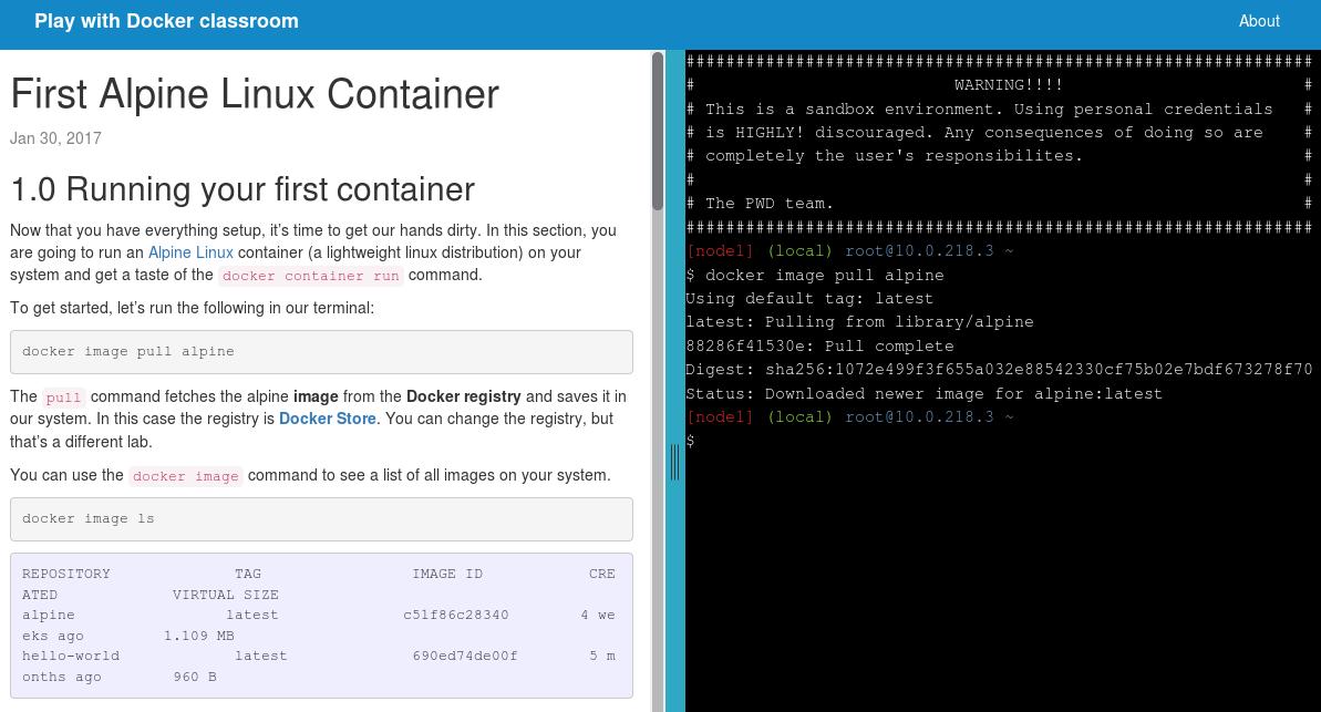 Play with Docker — онлайн-сервис для практического знакомства с Docker - 3