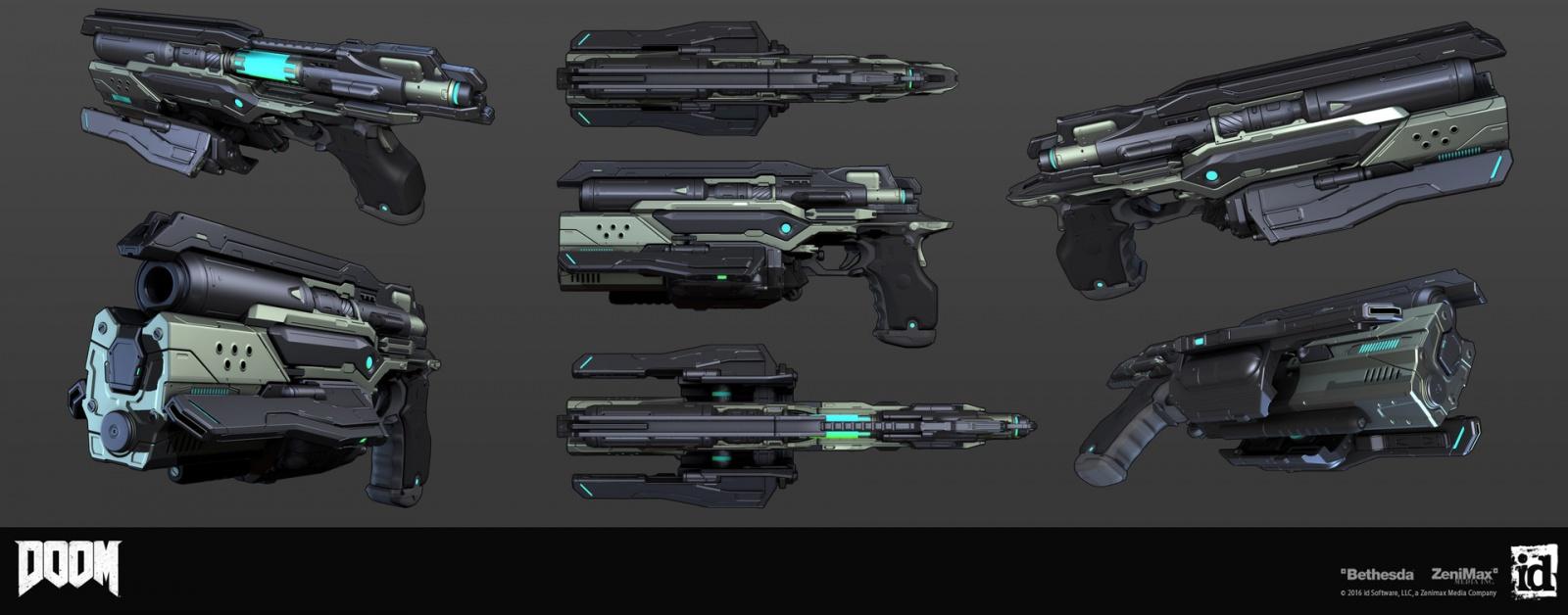 Как создавались пушки для Doom - 6