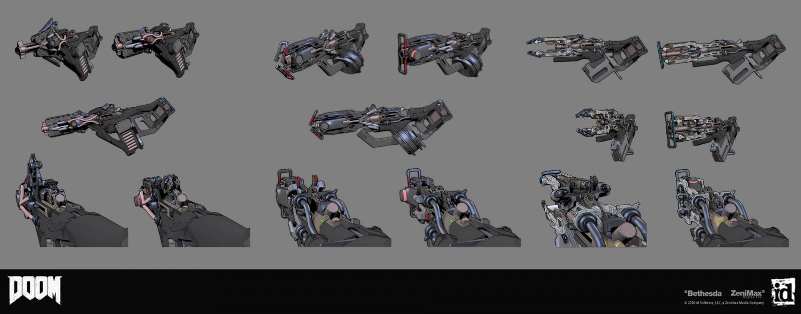 Как создавались пушки для Doom - 8
