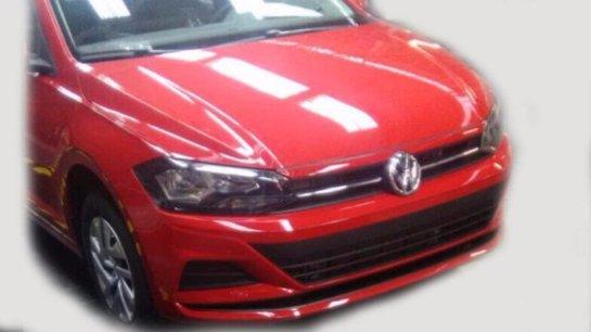 В Сети появились первые снимки обновленного Volkswagen Polo