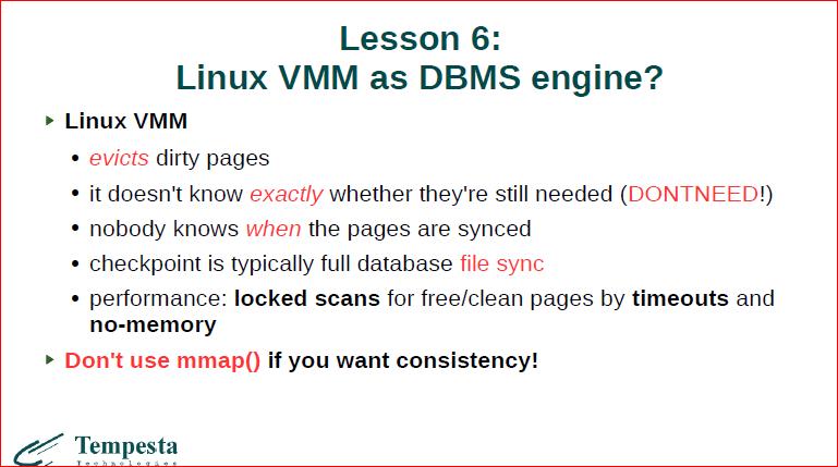 Linux Kernel Extension for Databases - 29