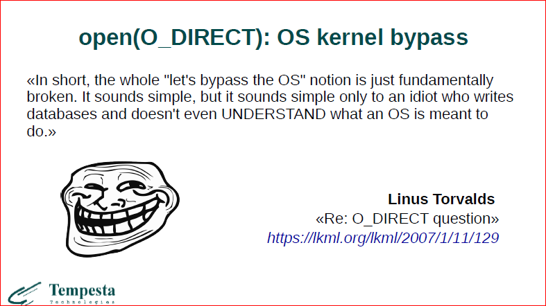 Linux Kernel Extension for Databases - 7