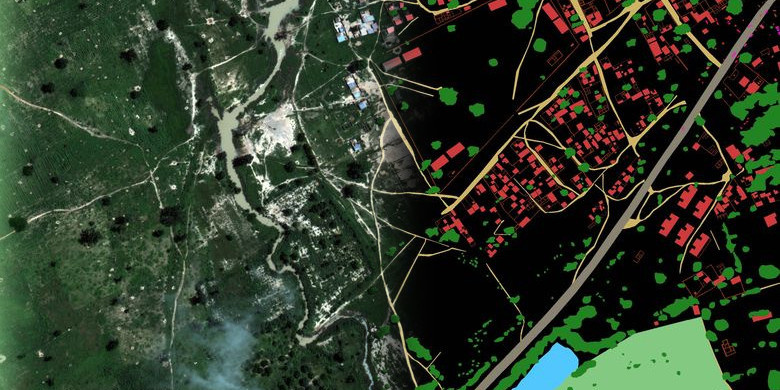 Как программно разметить спутниковую фотографию? Решение задачи Dstl Satellite Imagery Feature Detection - 1