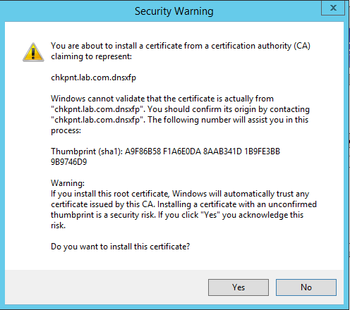 Двухфакторная аутентификация в Check Point Security Gateway - 26