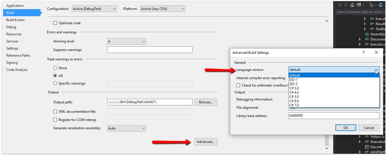 О поддержке языковых фич C# в Visual Studio и в CodeRush for Roslyn - 18