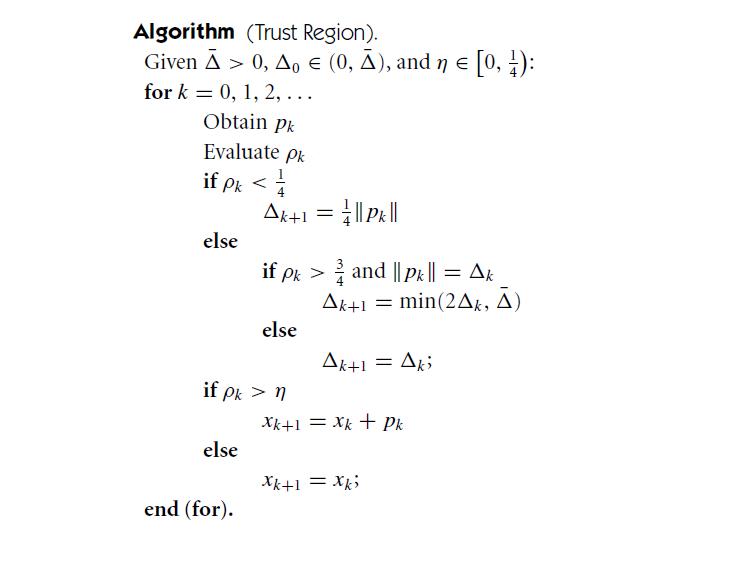 Метод оптимизации Trust-Region DOGLEG. Пример реализации на Python - 30