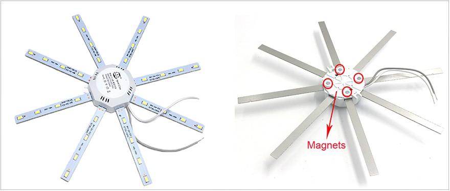 Модернизация «тарелки» под лампы GX70 - 3