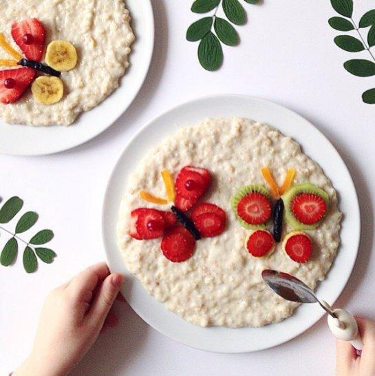 Для хорошего развития детям нужно завтракать