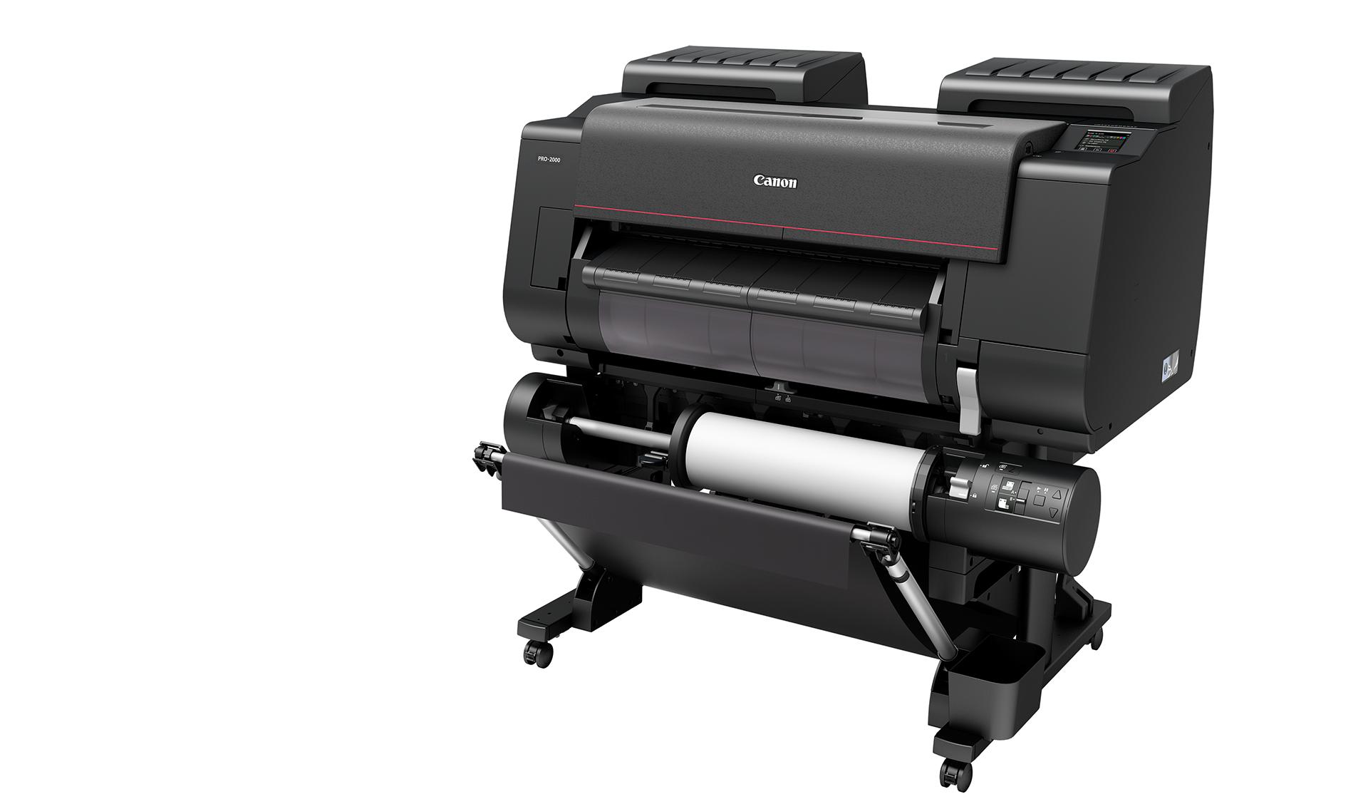 Тонкая красная линия: обзор широкоформатного принтера Canon imagePROGRAF PRO-2000 - 12