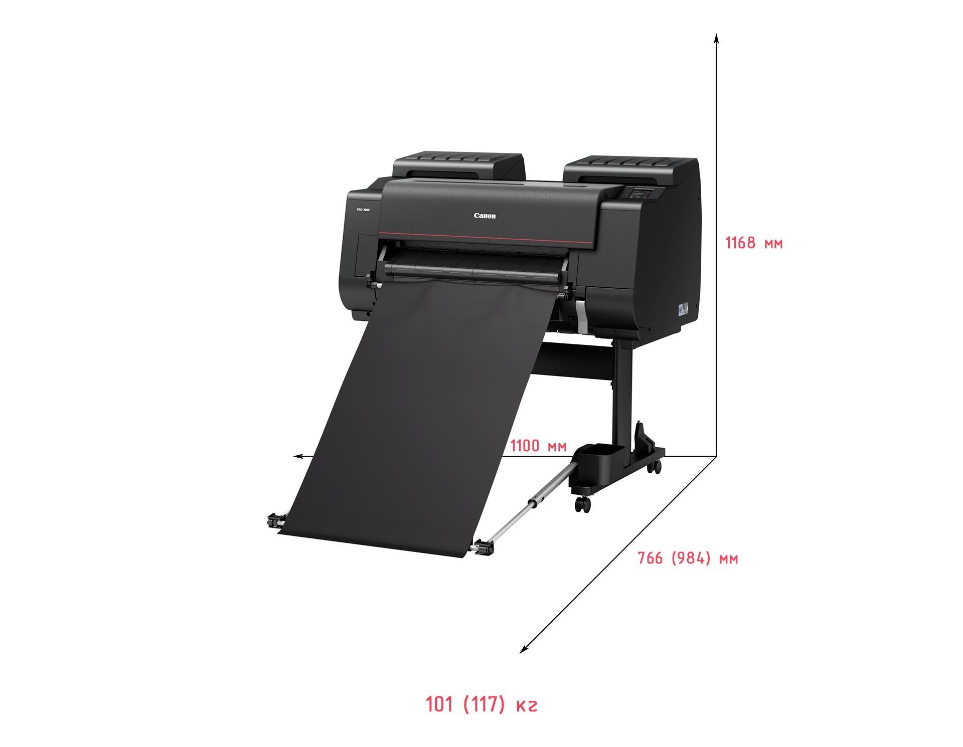 Тонкая красная линия: обзор широкоформатного принтера Canon imagePROGRAF PRO-2000 - 3