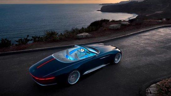 Представлен Mercedes-Maybach 6 Cabriolet