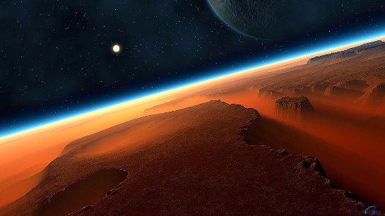 В НАСА считают, что марсианскую атмосферу можно искусственно наполнить кислородом