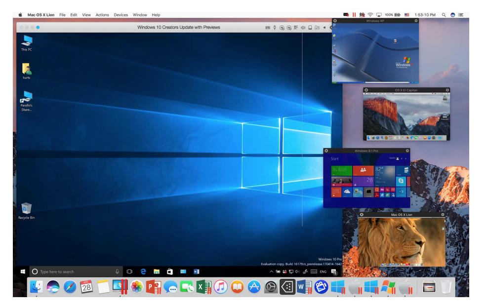 Parallels Desktop для Mac 13: к macOS High Sierra готовы - 13