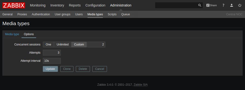 Вышел Zabbix 3.4 - 11