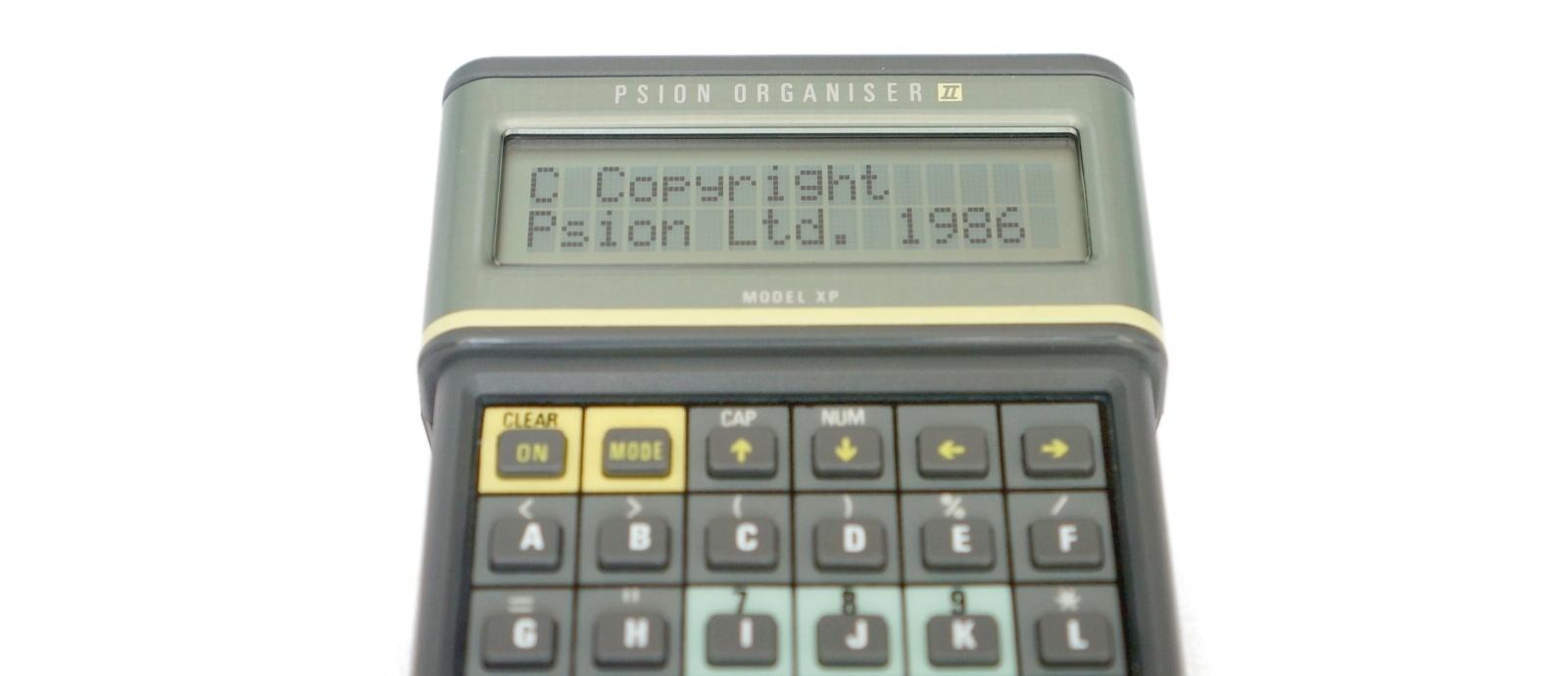 Обзор Psion Organiser II XP с внутренностями и Тетрисом - 1