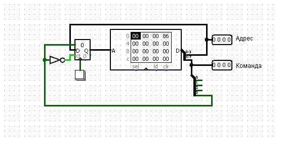Проектирование процессора (CPU Design) Logisim - 6