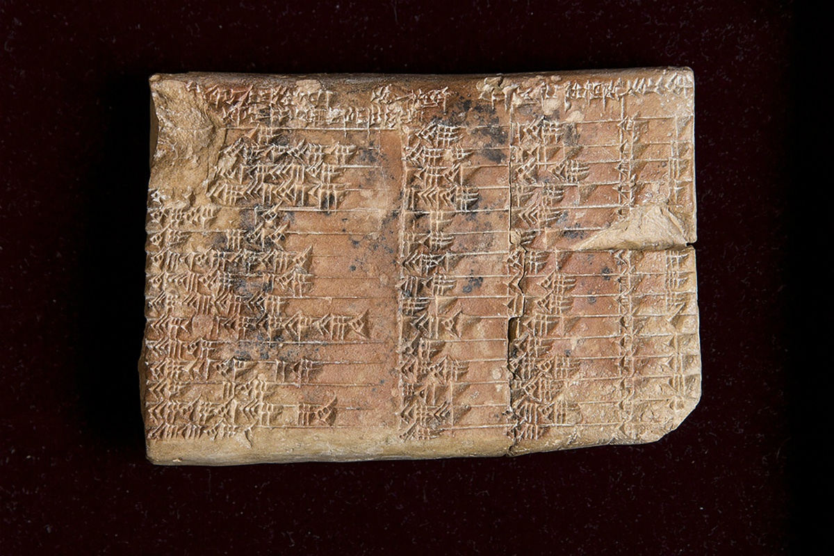 Древняя глиняная табличка доказывает, что в Месопотамии времен Хаммурапи знали тригонометрию - 1