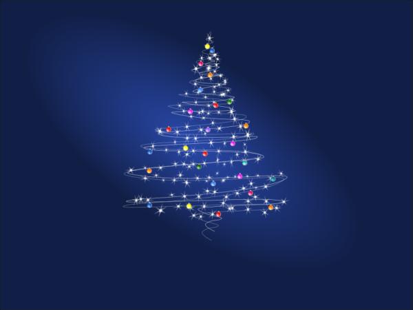 Inkscape: ms_meme и праздничное дерево - 1
