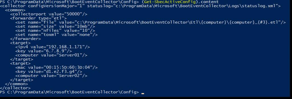 Сбор данных о загрузочных событиях Windows Server 2016 - 11