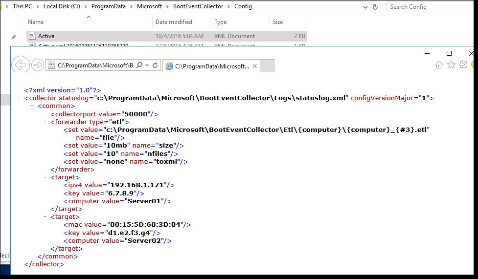 Сбор данных о загрузочных событиях Windows Server 2016 - 13