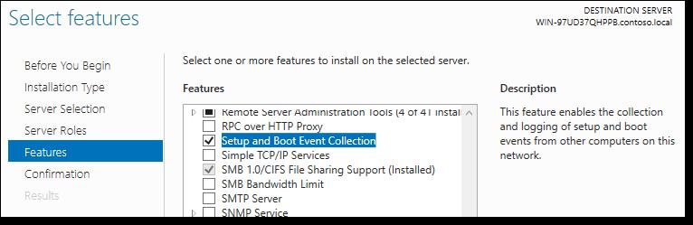 Сбор данных о загрузочных событиях Windows Server 2016 - 2