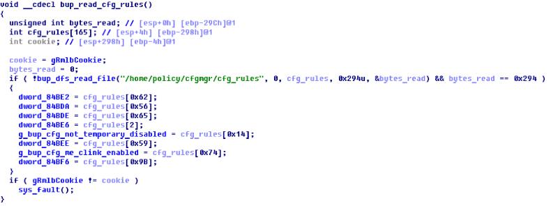 Выключаем Intel ME 11, используя недокументированный режим - 17