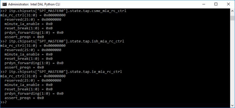 Выключаем Intel ME 11, используя недокументированный режим - 6