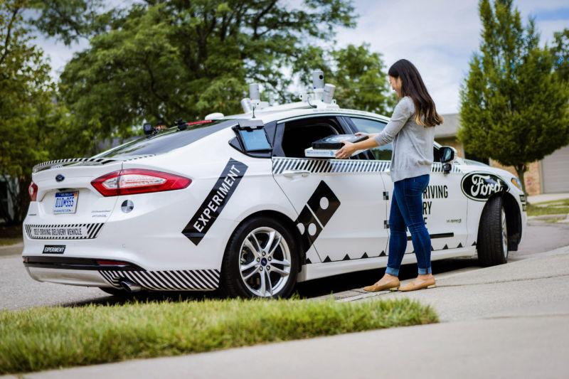 Автономные автомобили Ford поработают курьерами по доставке пиццы - 2