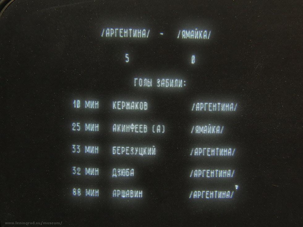 Векторный дисплей РИН-609 - 13