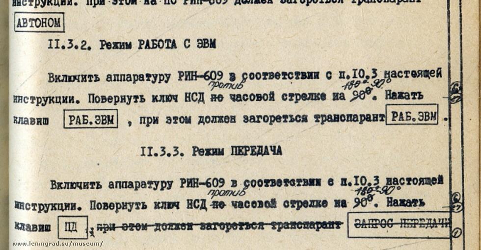 Векторный дисплей РИН-609 - 28