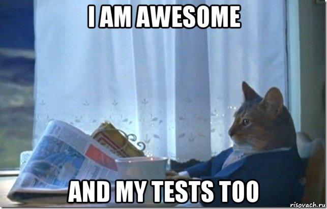7 правил хорошего тона при написании Unit-тестов - 1