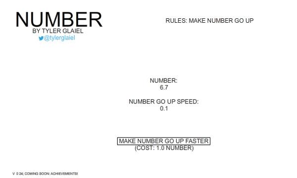 Number Main Screen