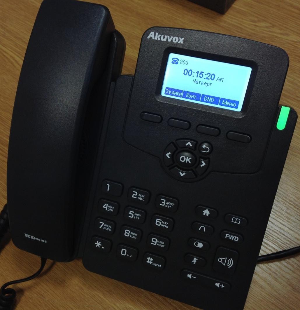 Опыт поднятия IP телефонии в отеле - 14