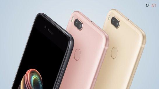 Смартфон Xiaomi Mi A1 появился в продаже: цена и специфика смарфона