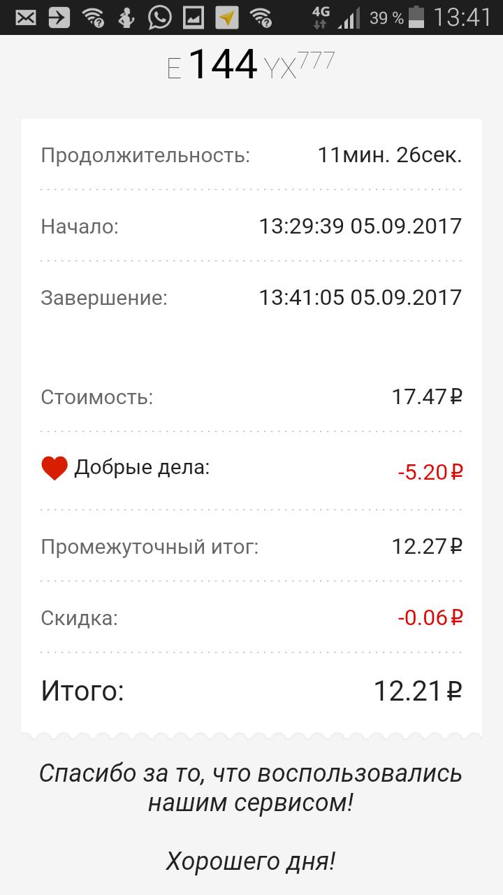 Без машины на машине: сравнительный обзор услуг каршеринга в Москве - сентябрь 2017 - 7