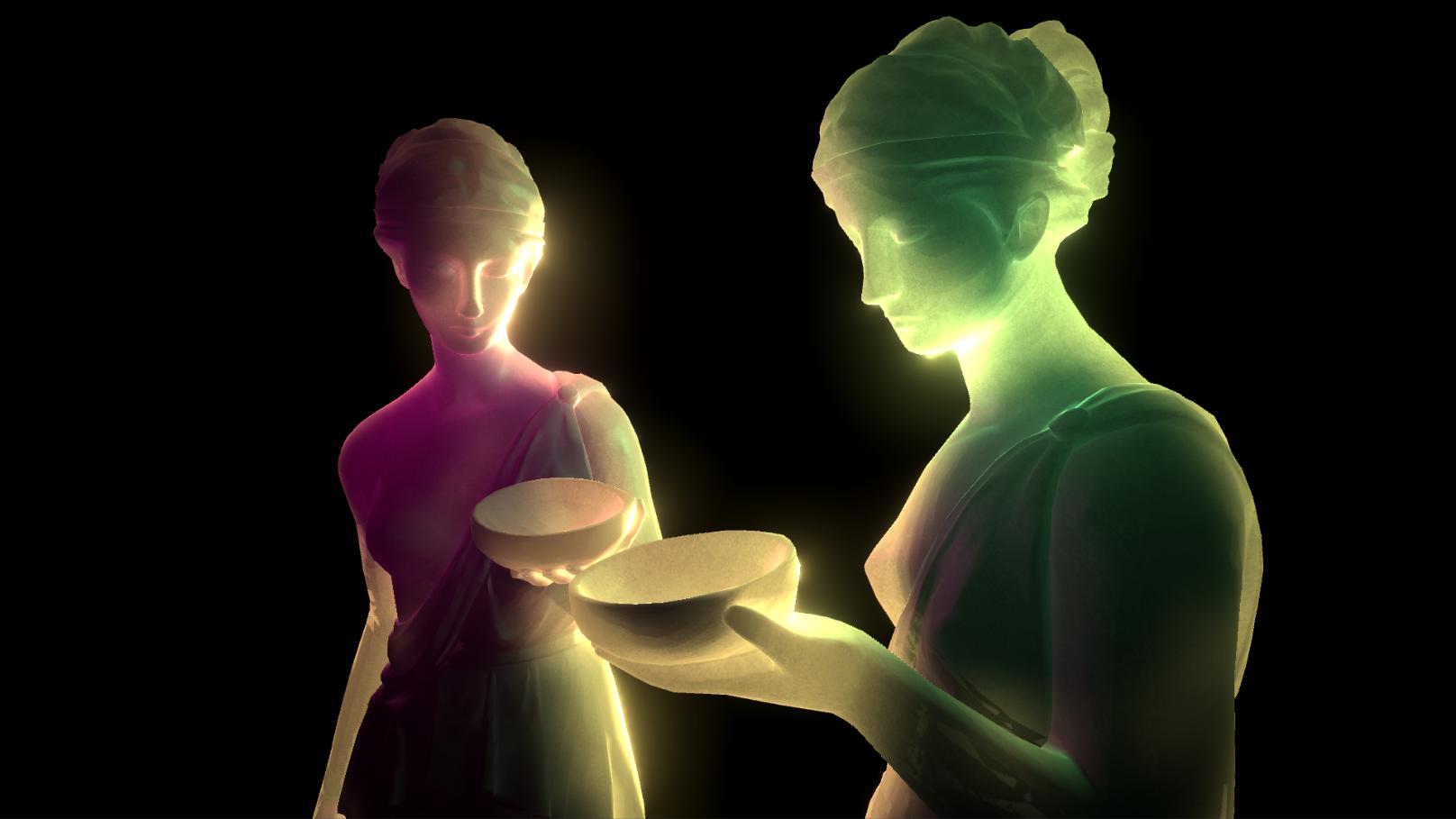 Быстрый шейдер для Subsurface Scattering в Unity - 3