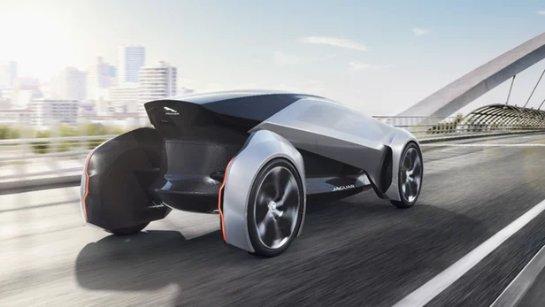 Концепция Future-Type от Jaguar предусматривает автономный курс до 2040 года