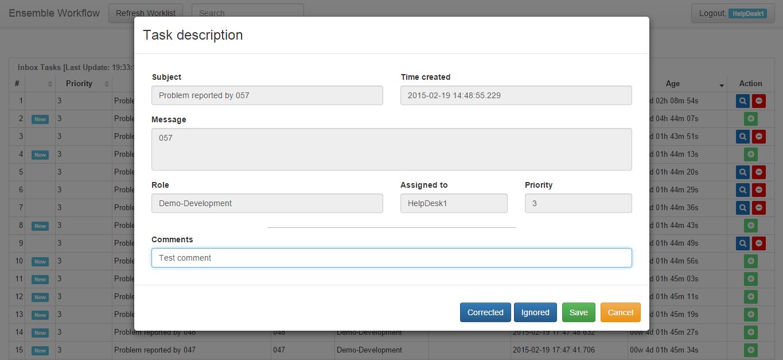 Визуализация данных Ensemble Workflow с помощью InterSystems DeepSee - 7