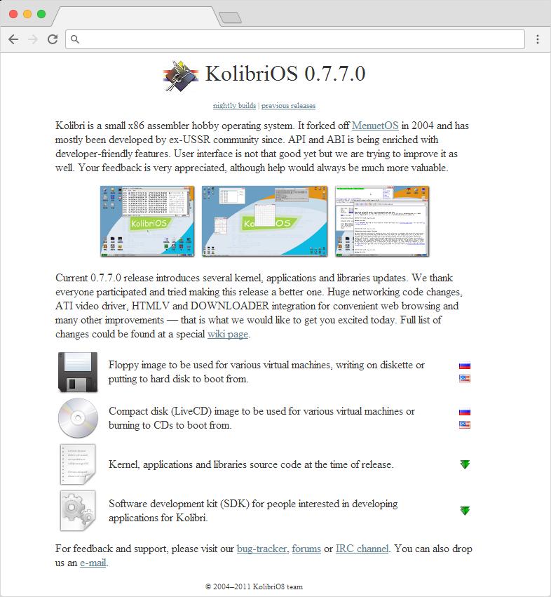 kolibiros.org 2004-2011
