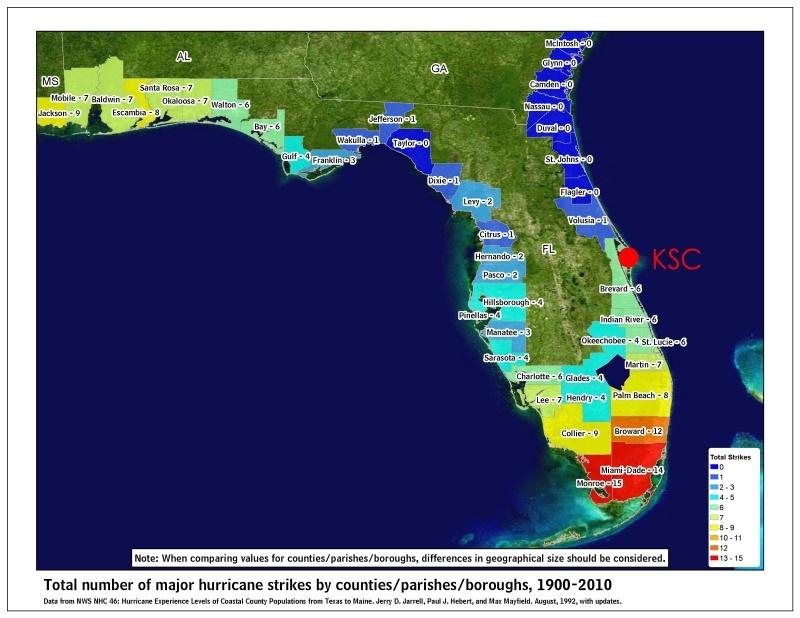 Под ударами стихии: Космический центр Кеннеди готовится к урагану «Ирма» - 2