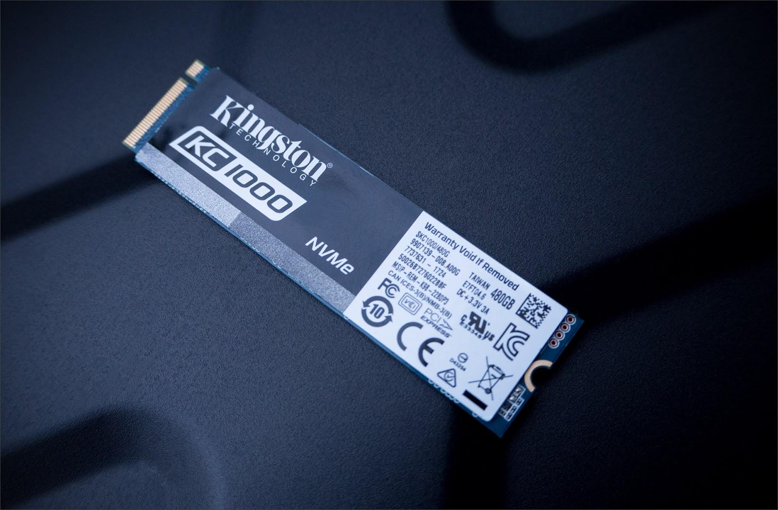 Kingston KC1000 NVMe SSD – мастер спринтов - 3