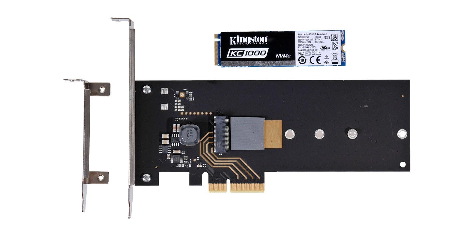 Kingston KC1000 NVMe SSD – мастер спринтов - 5