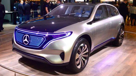 Mercedes-Benz представила концепт EQA