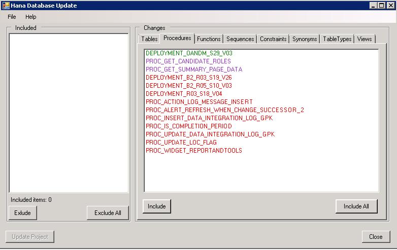 Plugin for HANA Database project in Visual Studio - 3
