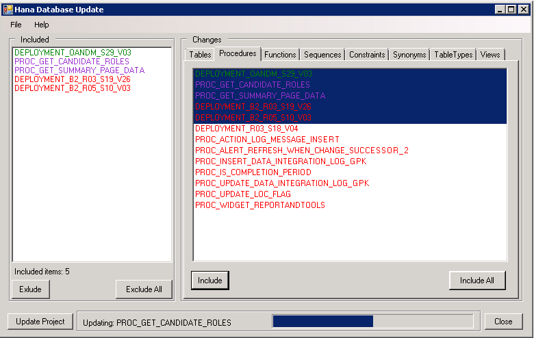 Plugin for HANA Database project in Visual Studio - 6