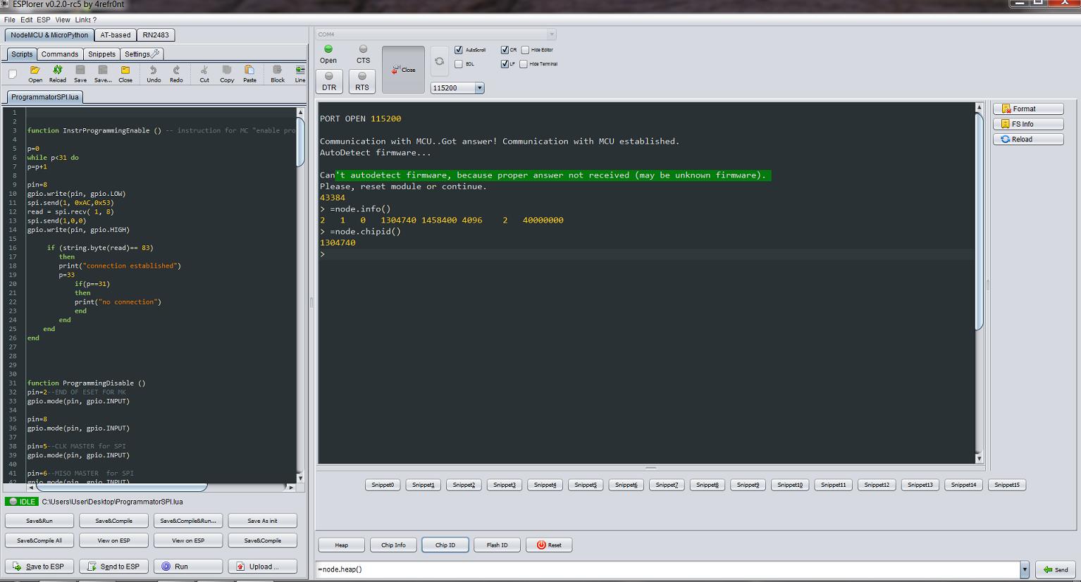 Программирование и обмен данными с «ARDUINO» по WI-FI посредством ESP8266 - 7