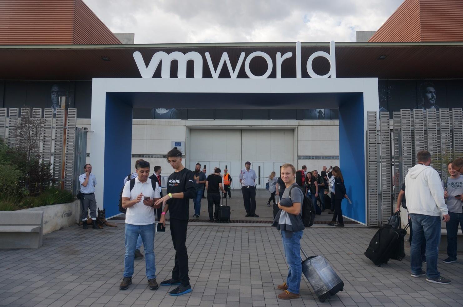 Конференция VMworld 2017 Europe. День 0 - 4