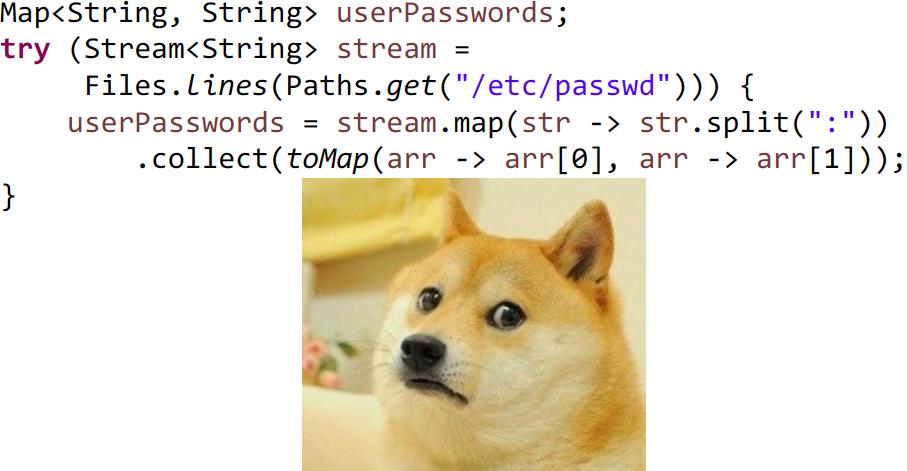 Причуды Stream API - 27
