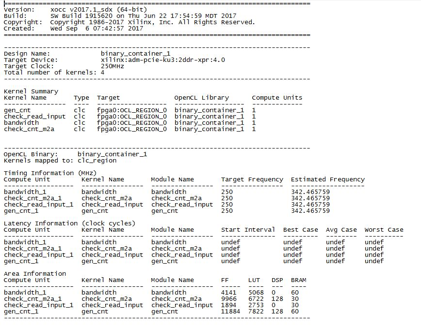 SDAccel — проверяем передачу данных - 5